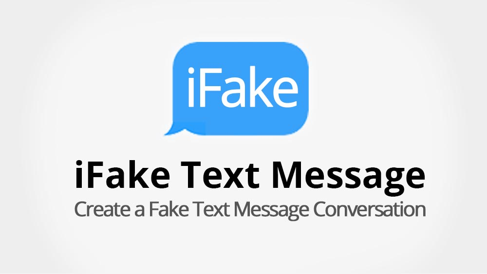 How to Create a Fake iMessage | Fake Text Message